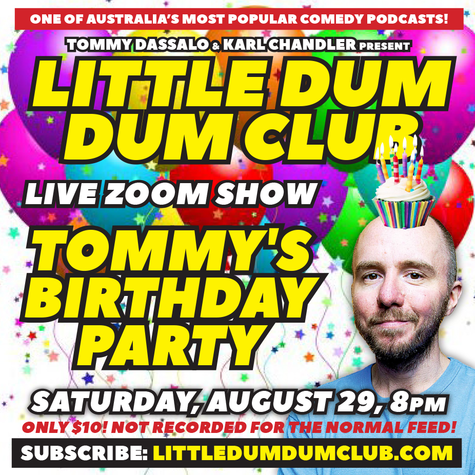 Tommy's Birthday Live Zoom Show